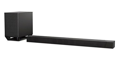 Sony HT-ST5000 - Barra de Sonido (7.1.2 Canales, 800 W, Dolby Atmos, Hi-Res Audio, Bluetooth, NFC, Wi-fi, S-Force Pro con Wave-Front, Surround 3D) Color Negro